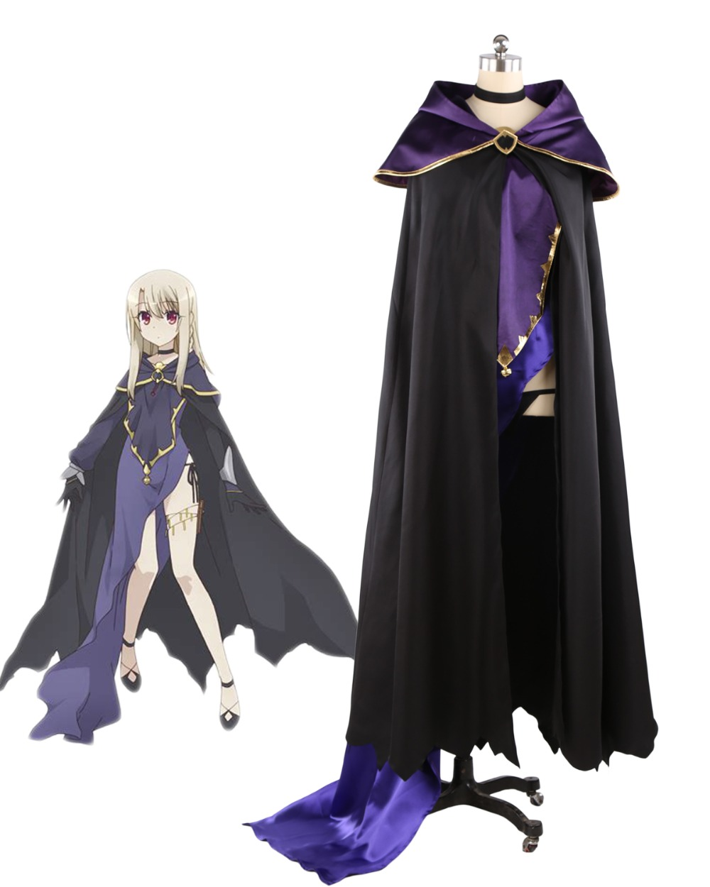 New Anime Fate//kaleid liner Illyasviel von Einzbern Cosplay Costume Accessories//