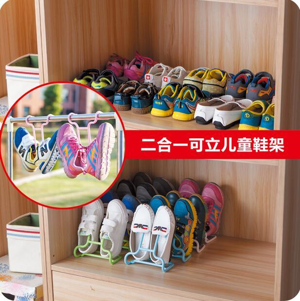 ... Multifunctional Child Shoe Rack Balcony Drying Shoes Holders Creative Shoe  Storage Space Saver Plastic Shoe Hangers ...