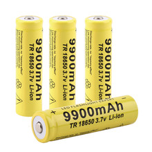 Cncool 3.7V 18650 Battery 9900mAh Rechargeable Battery Li-ion Lithium Bateria For LED Flashlight Torch Lithium Battery Drop ship все цены