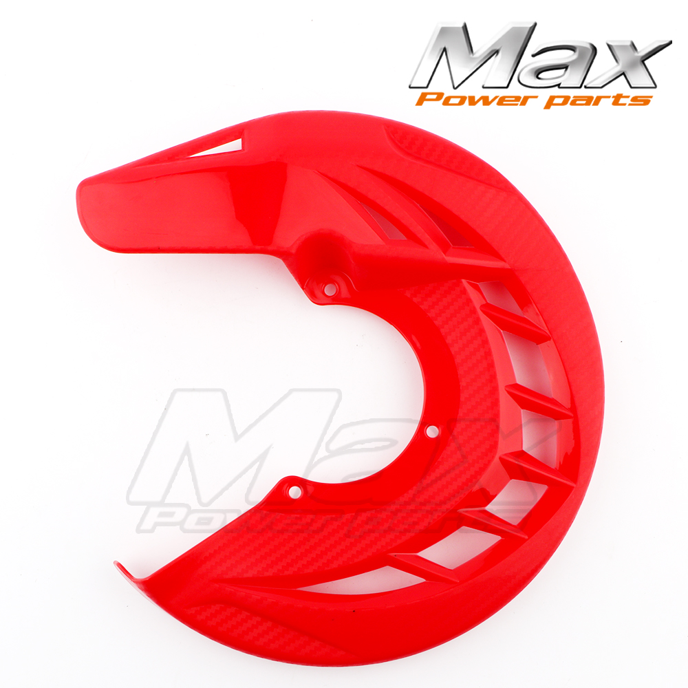Front Brake Disc Rotor Guard Protector Cover For CRF 125 200 250 300 530 SX SXF XC XCF EXC EXCF Dirt Pit Bike Enduro Motorcycle motorcycle front rider seat leather cover for ktm 125 200 390 duke