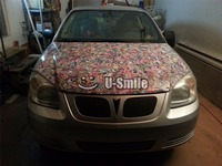 Sticker Bomb Wrap Car Sticker Bombing Car Vinyl Roll Air Bubble Free For Auto Graphics Motorcyle Mcabook 30M/Roll