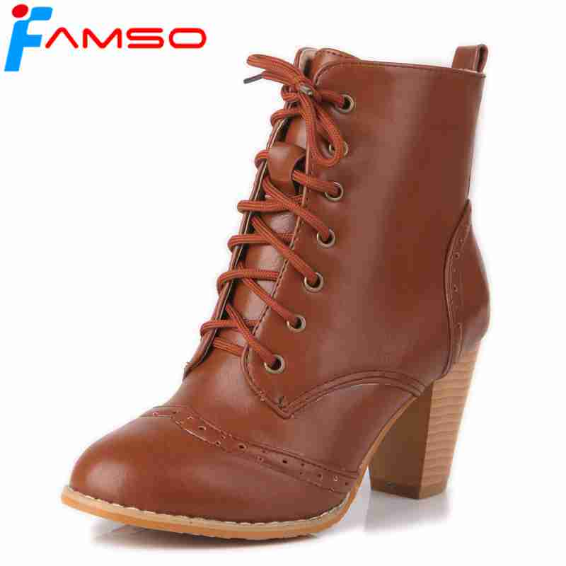 3bc6b72b734 Buy high heel boots brown and get free shipping on AliExpress.com
