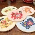 Needlework prática kits zodíaco diy fitas bordado para iniciante ponto cruz pintura de parede arte decoração para casa atender conjuntos