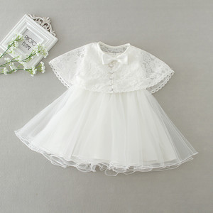 Image 2 - 2pcs /Set Baby Girl Dress 3 24 Months Infant Formal Dresses For Birthday&Wedding Occasion Christening Gowns Baptism Clothes TS46