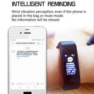 Image 3 - Nova pulseira inteligente smartwatch, pulseira inteligente, monitor de freqüência cardíaca e pressão arterial, monitor de fitness, pedômetro, pulseira para android, xiaomi, huawei, telefone ios