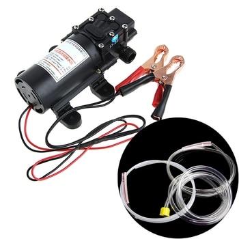 цена на 12V Electric Extractor Pump Transfer Oil Fluid Diesel Siphon Car Motorbike 60W