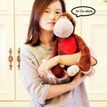 60cm New Germany NICI Jungle Brother Red Love Heart Monkey Plush Toy 1pcs Valentine's Day Christmas Gifts