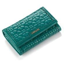 Купить с кэшбэком 2018 Fashion Women Wallets Drawstring Leather Zipper Wallet Women's Long Design Purse Tow Fold More Color Clutch Magic moneybag