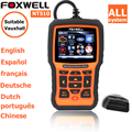 foxwell nt 510 for Vauxhal CAN ABS and SRS Airbag Scan Tool obd2 autoscanner diagnostic scanner obd code readers scan tools