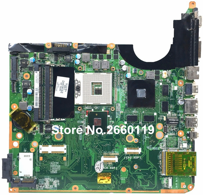 laptop motherboard for HP 605705-001 DA0UP6MB6F0 system mainboard, fully tested