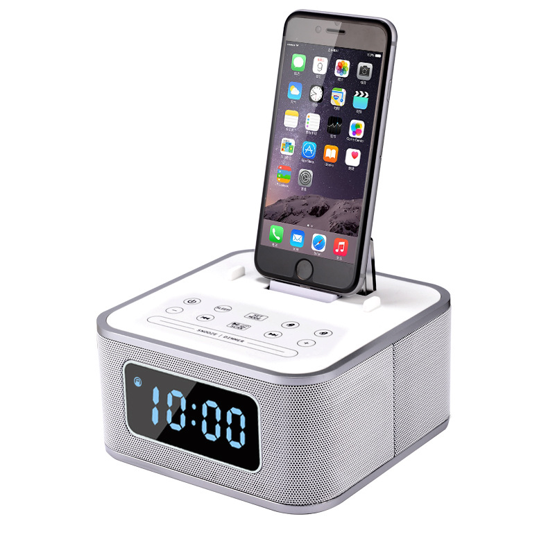S1 Pro Alarm Clock Radio Wireless Speaker Altavoz Bluetooth