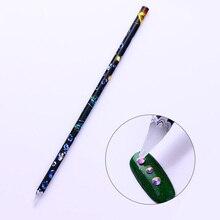 Восковая ручка, стразы, инструмент для ногтей, точечная ручка, легко подбирается, для маникюра, гвоздики со стразами, инструмент для маникюра, дизайна ногтей