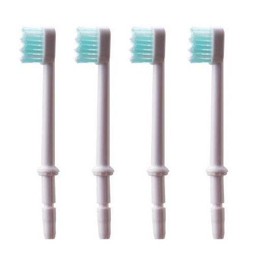 4ks Perorální hygiena Náhradní zub Zubní kartáček na dentální konvice Tipy pro Waterpik WP-300 WP-300 WP-300