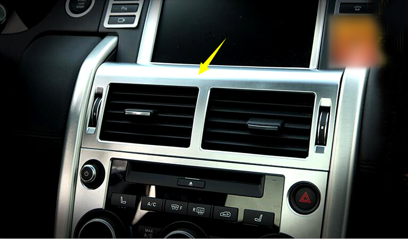 5pcs Interior Accessories Air Air Conditioning Outlet Vent For Land Rover Rover Discovery