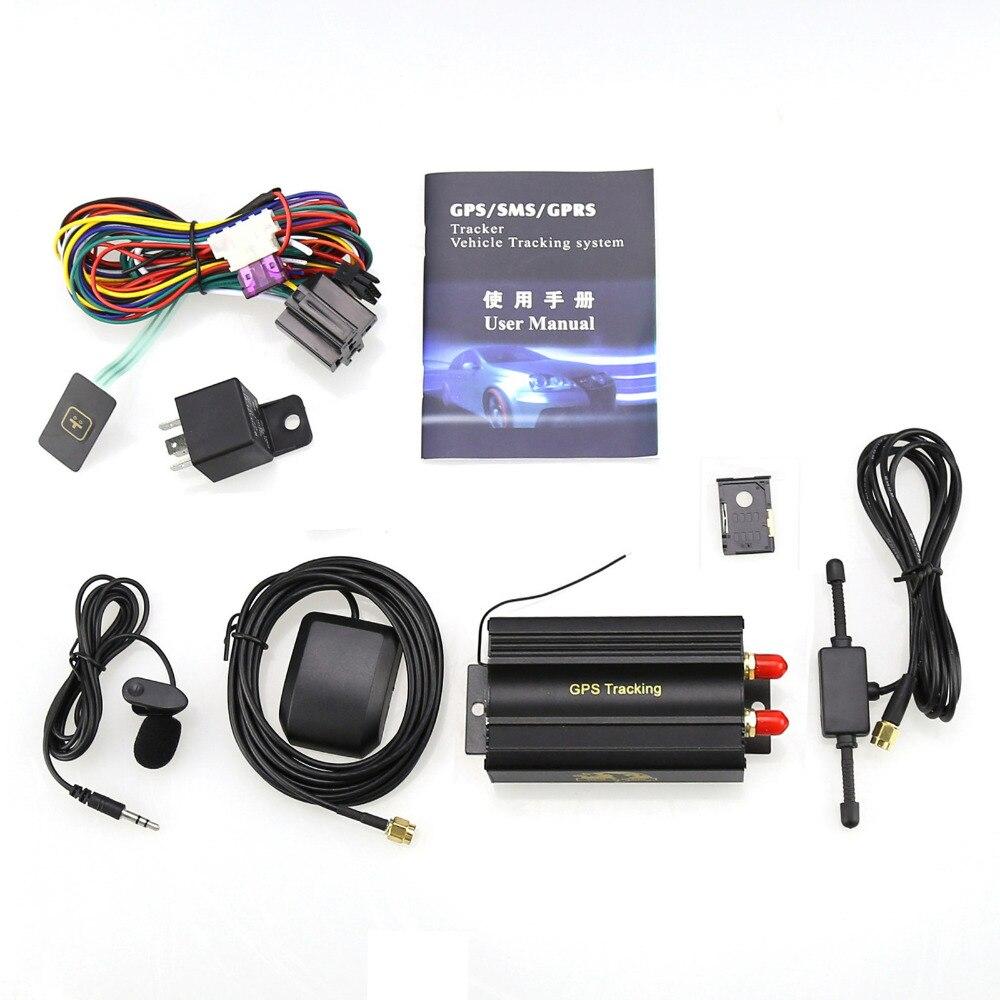 2017 Car GPS tracker 128M Car GSM/GPRS T