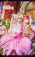 CARDCAPTOR прозрачная карта Сакура КИНОМОТО Сакура ледяной Ангел Сакура lo розовое платье Лолита платье для косплея прекрасный стиль