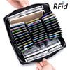 Minimalist Real Cowhide Split Leather RFID Blocking Anti Theft Wallet Men Women Big Long Passport Travel