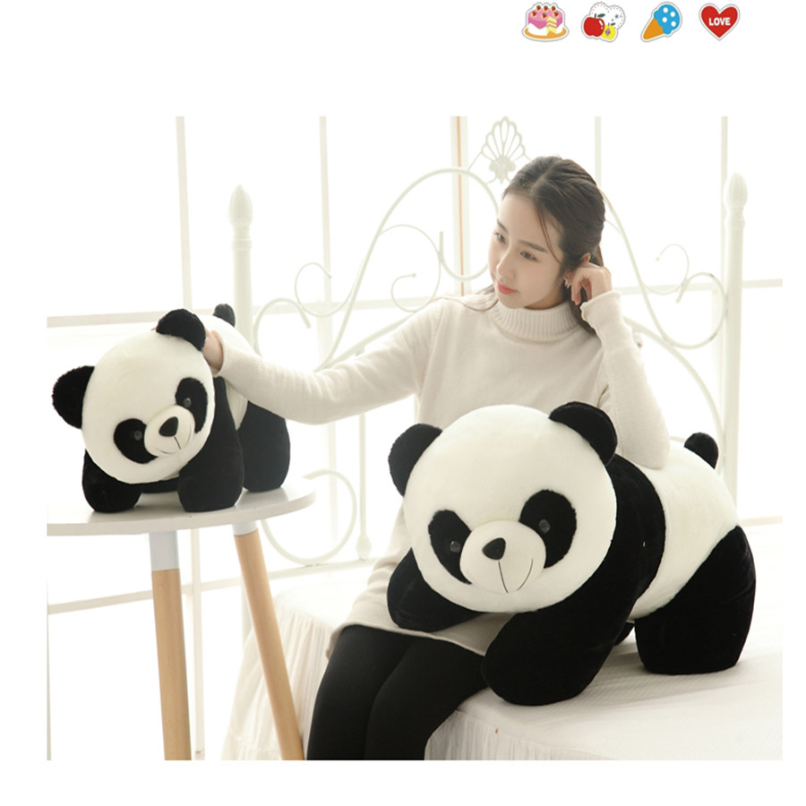 New Panda Plush Toy Cute Animal Soft Stuffed Dolls Plush Toys For Children Birthday Gift Peluches De Animales Present 70C0020