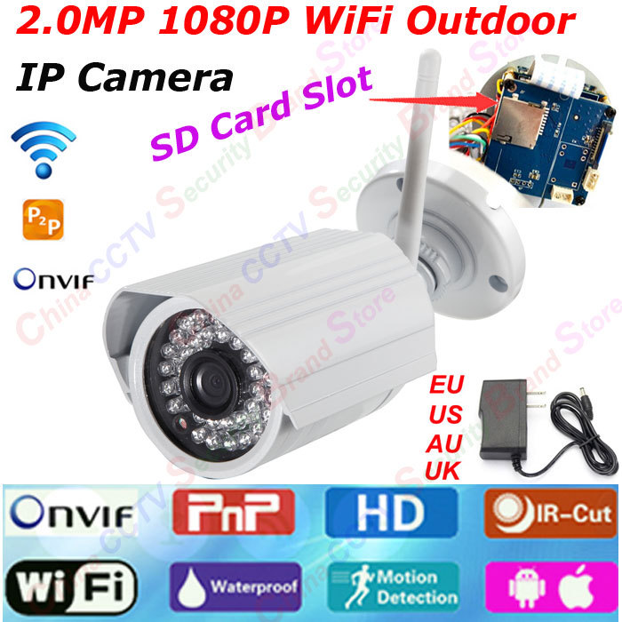 Home CCTV 2 0MP WiFi IP font b Camera b font 1080P Wireless Security IP cam