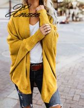 Xnxee 2019 autumn and winter fashion sweater shirt jacket bat sleeve cardigan women