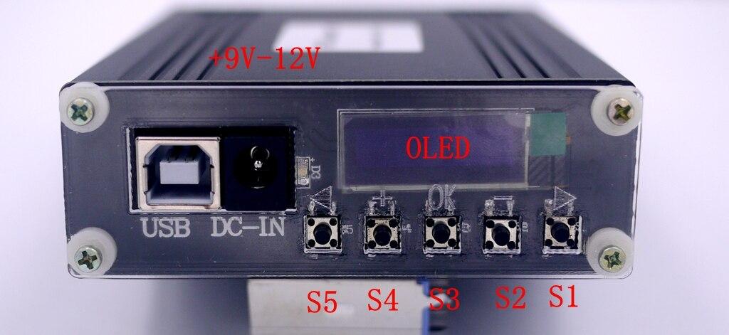 Module ADF4355 avec boîtier OLED Source de Signal RF synthétiseur de fréquence à micro-ondes VCO PLL - 5