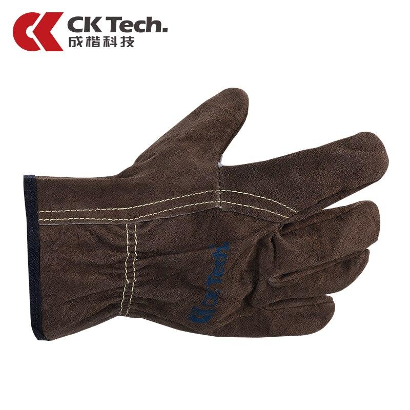 Odpornymi na zużycie Rękawice Ziarna Skóra Bydlęca Ochrony Dłoni Rękawice Spawalnicze Rękawice Robocze Rękawice Odporne Na Podwyższonej Temperaturze 1301