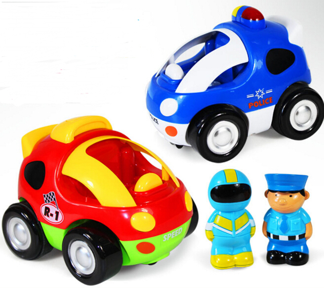 Новые детские мальчики девочки Дистанционного Управления Электрические игрушки автомобиль дети RC автомобиль Высокой скорости музыкальный свет Ребенок Автомобиль игрушки Цвет случайный 2 ШТ