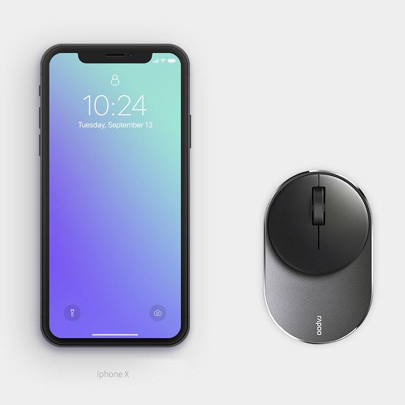 RAPOO M600 mini Multi mode Wireless Mouse usb laptop Bluetooth 3 0 4 0 and Wireless