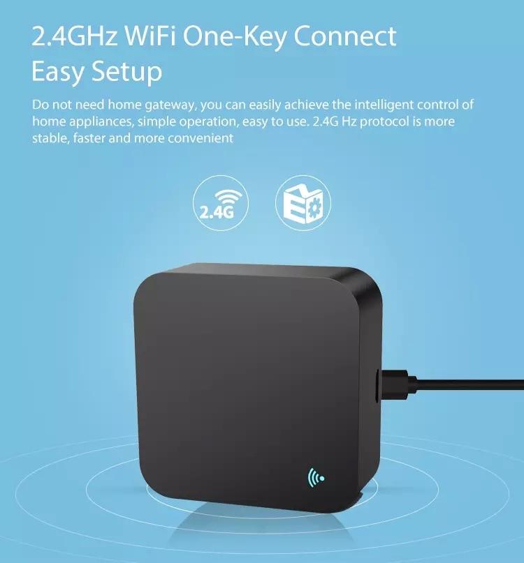 Image 2 - Tuya Smart life WIFI IR Remote Control Smart Home Automation  Wifi Remote  Alexa Google home Voice Universal Remote ControllerHome Automation Modules   -