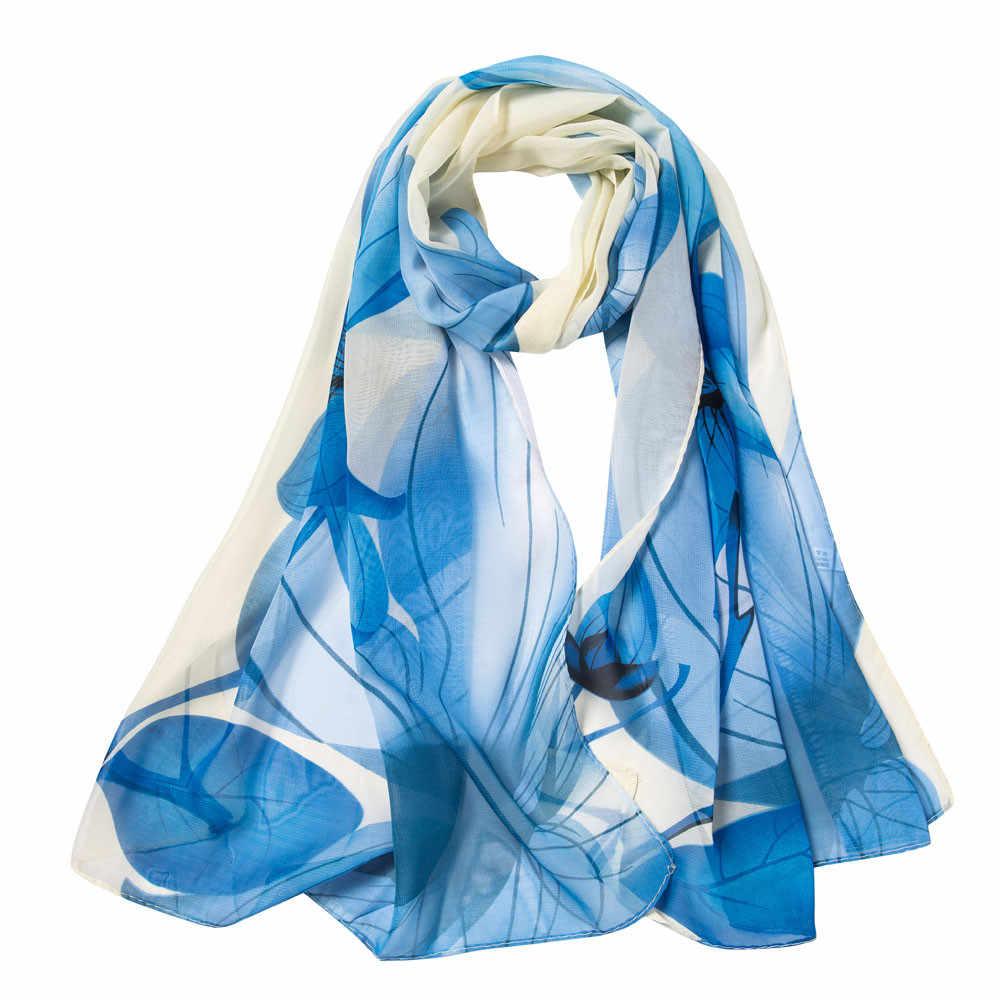חם חורף נשים ארוך לעטוף רך שיפון צעיפי צעיפי נשים צעיף הדפסה אוטונומי שיפון צעיף קשמיר צעיפי מתנות # YL1