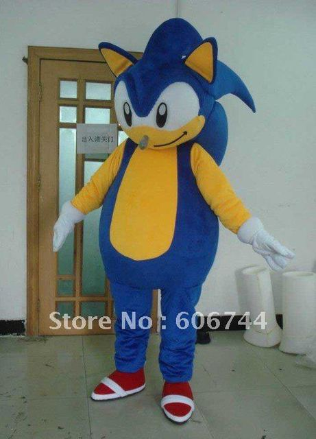 Wholesale Adult Sonic Mascot Costumes Character Costumes Carnival Costumes Kids Birthday Gifts