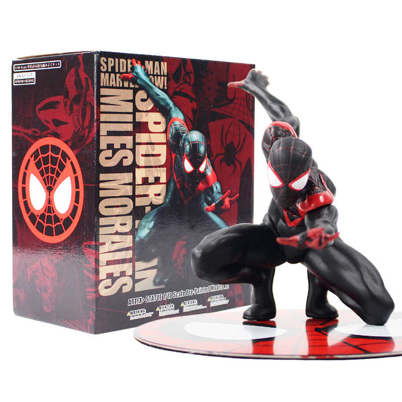 2018NEW Marvel Spider-Man Miles Morales Artfx Statue PVC Action Figure Model Toy
