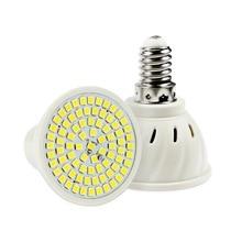 Светодиодный точечный светильник лампа E27 E14 MR16 GU10 светодиодный 2835 лампа накаливания SMD для Спальня Кухня Гостиная белый светильник 60 80 светодиодный s