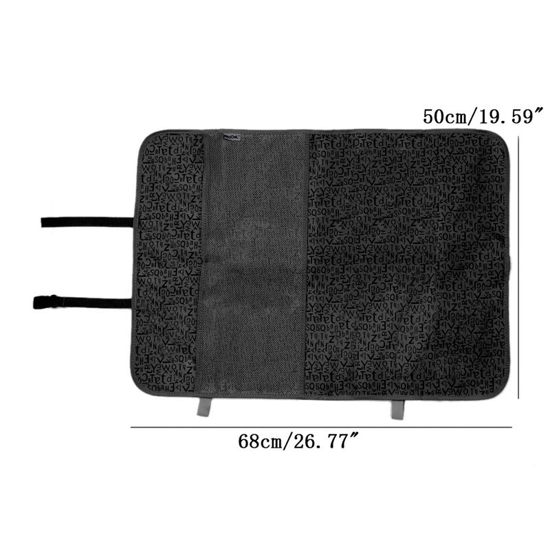 Image 2 - New Car Seat Back Cover Protector Kids Kick Clean Mat Pad Anti Stepped Dirty-in Seat Supports from Automobiles & Motorcycles