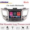 Liislee For Hyundai Ix35 Tucson Stereo Android Radio DVD Player Wifi BT GPS MAP Navigation 1080P