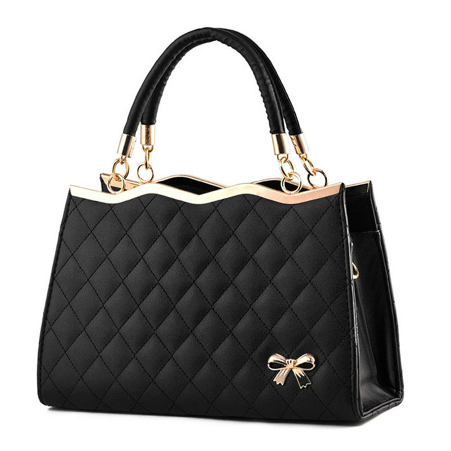 Women Bags Luxury Handbags Fashion Women Crossbody bags Casual Tote Bow Designer High Quality 2018 NEW Interior Compartment
