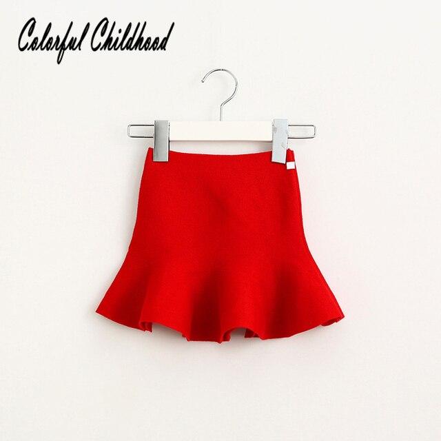Cô gái Váy 2018 New Dệt Kim Len Xếp Li Tutu Váy Thời Trang Công Chúa Nhỏ Đuôi Cá Váy Trẻ Sơ Sinh Toddler Kids Váy Jupe Confidence The Fille