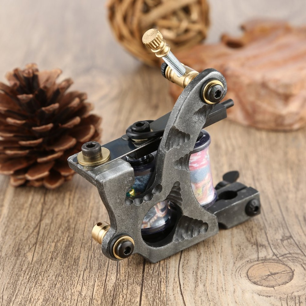 Nieuwste Craved Flower Complete Beginner Tattoo Kit Pro Machine Inks Voeding Naald Grips Tips Tatto Accessoires Voor Kunstenaars