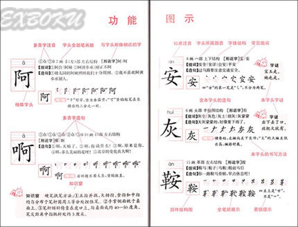 Չինական ինսուլտի բառարան ՝ 2500 - Գրքեր - Լուսանկար 3
