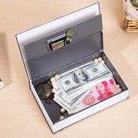 Piggy Bank Safe Metal Money Box Cash Box Metal Boxes With Locks Piggy Bank Counter Cash Box For Money Coin Counter 50CX0045