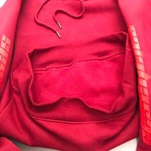 Image 5 - Haute qualité Feece saison 4 Calabasas KANYE WEST sweat à capuche pull à capuche surdimensionné hommes femmes marque vêtements sweat à manches longues