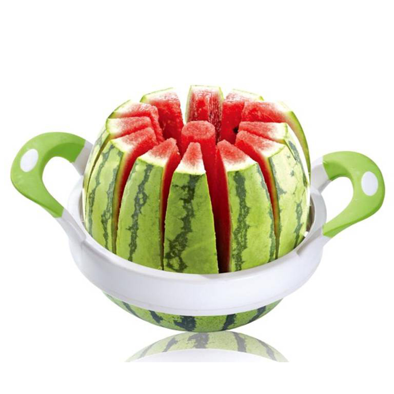 Creative Watermelon cutter Large Stainless Steel Cut Fruit Watermelon Hamimelon Slicer Device Fruit Cutting Tools Convenient S16