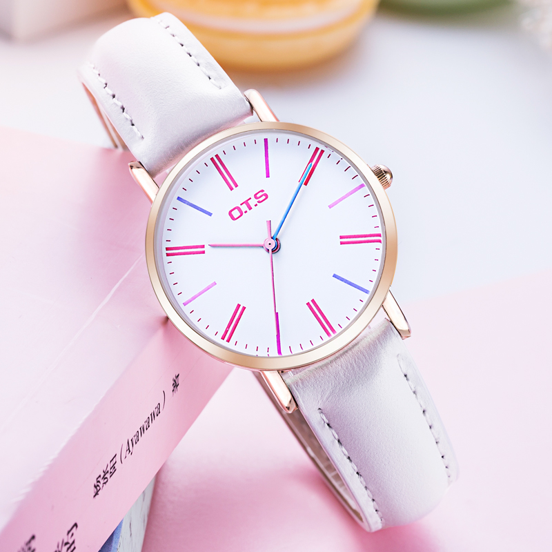 Women Fashion Casual Watch Genuine Leather Luxury Brand High Quality Quartz Watches Female Gift Clock Ladies Wristwatches Women high quality brand leather casual watch women ladies fashion dress quartz wristwatches roman numerals watches men gift unisex
