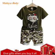 HYLKIDHUOSE Summer Baby Girls Boys Clothing Sets Cotton