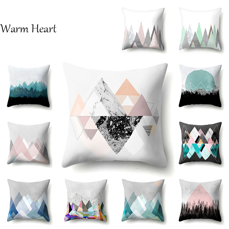 Mango Gifts Indigo Patchwork Throw Pillow Case Cushion Cover Home Sofa Decorative 16 X 16 Inch