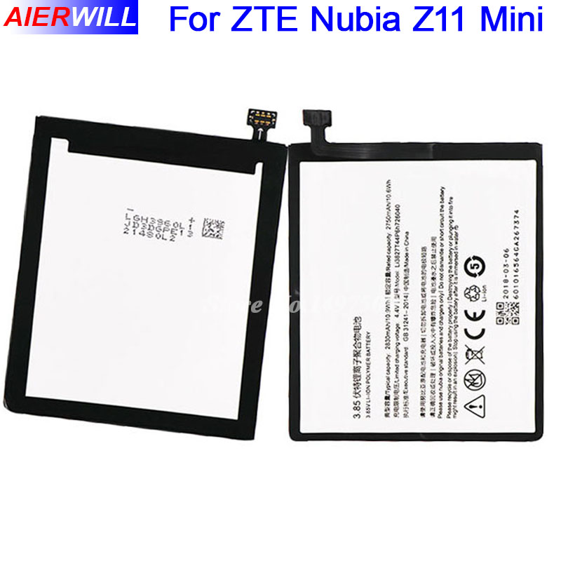 Li3827T44P6h726040 Batterie Für ZTE Nubia Z11 Mini NX529J Batterie Bateria Batterie-akkumulator 2830 mAh Hohe Qualität