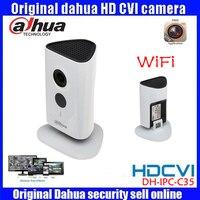 Newest Dahua 3mp Wifi IP Camera DH IPC C35P HD 1080p Security Camera Support SD Card