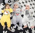 Cartoon Baby Rompers Fashion Brand 100% Cotton Long-Sleeve Ropa Bebe Infant Gril Jumpsuit Newborn Baby Boy Clothes