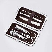 2pcs Fingernail Toenail Cuticle Nipper Steel Nail Clipper Cutter Cuticle Scissor Manicure Tool