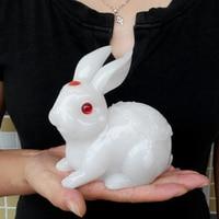 A Decoration Art Wanlang lucky rabbit rabbit crafts ornaments zodiac jewelry creative wedding gift rabbit rabbit jade ornaments